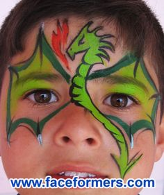 Google Image Result for http://www.faceformers.com/wp-content/uploads/2009/07/face-painting42-Dragon-mask.jpg