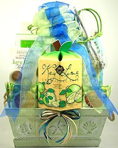 Search results for: 'kickin key lime tropical treats gift basket' Kickin Key Lime Tropical Treats Gift Basket- This great summer gift basket is full of tropical trea Summer Gift Baskets, Christmas Gift Baskets, Basket Gift, Themed Gift Baskets, Gourmet Gift Baskets, Moving Gifts, Welcome Gifts, Thanksgiving Gifts, Corporate Gifts