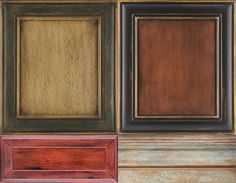 Faux Painting Kitchen Cabinets | Cabinet Glazing, Faux Finishes ...