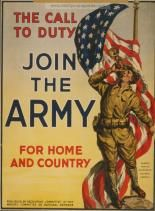 Examples of Propaganda from WW1 | Join the Red Cross and on Christmas eve a candle in every window, a service flag for every home.