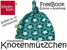 Freebook / Kostenlos / Schnittmuster / Anleitung / Nähanleitung / Tutorial / nähen / Mütze für Baby / Neugeboren / DIY / sewing / free pattern and instructions / baby hat / gor newborn