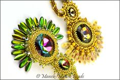 Jewel Of The Peacock Throne by Manek-Manek Beads - Jewelry | Kits | Beads | Patterns