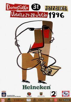 Cartel 31ª edición año 1996
