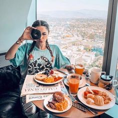 @whitneys_wonderland has a breakfast of champions in the Snake Charmer Tee