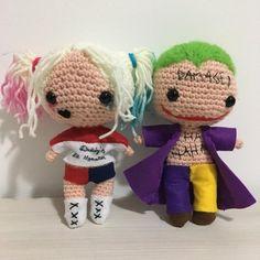 Harley Quinn and Joker by Viol3t-Om3ga.deviantart.com on @DeviantArt