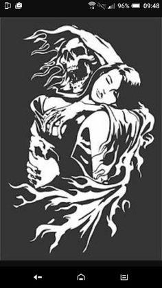 Free Stencils, Stencil Templates, Stencil Patterns, Stencil Designs, Skull Stencil, Stencil Art, Skull Art, Stenciling, Zombie Drawings