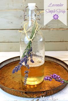 Mr. & Mrs. P: Lavender Simple Syrup