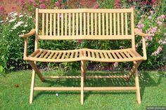 сборная деревянная скамья для сада