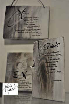 Art presents from forest Wood Art, Presents, Cover, Gifts, Wooden Art, Favors, Gift