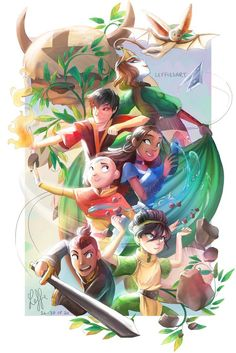 Team Avatar by shinobisena on DeviantArt