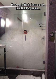 Too much bubblebath...    ________________________ www.fixwomenshealth.com  www.drmauramcgill.com