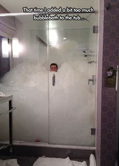 Too much bubblebath // funny pictures - funny photos - funny images - funny pics - funny quotes - #lol #humor #funnypictures