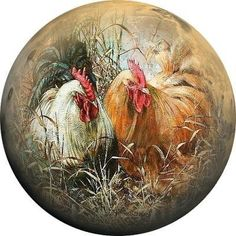 World needlework Lidiya Kostina and not only .: End of the Line part Images for decoupage Rooster Painting, Rooster Art, Painting On Wood, Chicken Painting, Chicken Art, Poster Photo, Decoupage Printables, Art Watercolor, Chickens And Roosters