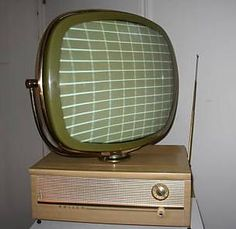 Television, industrial filter or mosquito light? hard to tell when we look at it but yep it's an old TV!!