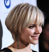 Bob hairstyles with bangs make you different than all the modern girls and women. Bob hairstyles with bangs are different than all the Bob hair styles. Popular Short Hairstyles, Short Hairstyles For Thick Hair, Short Hair With Layers, Short Hair Cuts For Women, Cool Hairstyles, Hairstyle Short, Hairstyle Ideas, Layered Hairstyles, Wedge Hairstyles