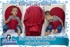 Cadeira de Papa Portátil de Bebê, Assento de Segurança <br>Para crianças de 8 a 30 meses; <br>Lavável em máquina; <br>Simples de usar no dia-a-dia; <br>Contém 1(uma) cadeira de alimentação; <br>Garantia 3 meses. <br>Personalizamos com qualquer tema, nomes.