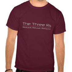 The Three Rs - Reduce, Reuse, Refactor Tee T Shirt, Hoodie Sweatshirt