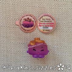 Shopkins Season 4 Limited Edition  Pretty Bow Kay 4-140 #shopkinslimitededition