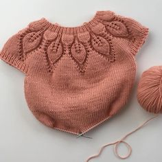 Diy Crafts - crochersweater,sweater-No photo description. Kids Knitting Patterns, Knitting For Kids, Crochet For Kids, Knitting Designs, Crochet Baby, Knit Crochet, Knitting Socks, Diy Crochet Sweater, Knit Baby Sweaters