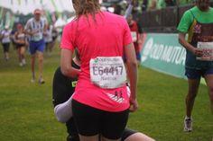 Proposal on the Two Oceans Half Marathon 2012 finish line.