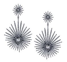 Amrapali DIamond Star Earrings