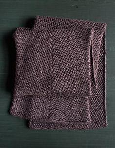 Ravelry: Diagonal Twist Scarf pattern by Purl Soho Knitting Stitches, Knitting Patterns Free, Knitting Yarn, Knit Patterns, Free Knitting, Free Pattern, Mens Scarf Knitting Pattern, Knitting Buttonholes, Purl Soho