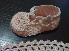 Scarpette crochet