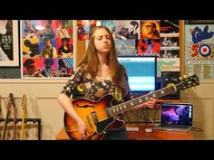 Ayla Real: Black Magic Woman   Thanks for watching my video! My name's Ayla and I'm a 15 year old guitarist from Canada. Heres my interpretation of Santanas Black Magic Woman (originally written by the fantastic Peter Green). All filming editing recording and playing by me but of course all rights go to the original artists. Though I certainly wont stop making covers because theyre a lot of fun to do Im shifting my focus more to writing original material instead and will hopefully have…