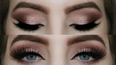Rose Gold Smokey Eye Tutorial - YouTube