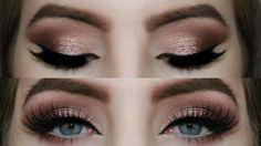 Rose Gold Smokey Eye Tutorial - YouTube