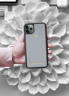 Iphone 11 Discover Grey Pebbled Leather iPhone 11 Pro Max Case - Michael Louis Michael Louis Inc Iphone 11 Pro Case, Iphone Cases, Iphone 3, Iphone Battery Replacement, Michael Louis, Iphone Camera Lens, Iphone Texts, Accessoires Iphone, Leather Phone Case