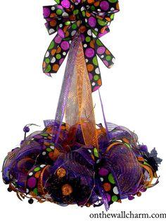 Halloween Chandelier/Centerpiece by OnTheWallCharm on Etsy