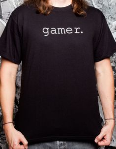 J!NX : Gamer. T-shirt - Clothing Inspired by Video Games & Geek Culture