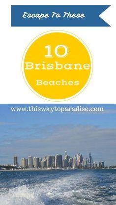 Escape To These 10 Brisbane Beaches