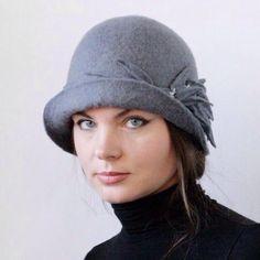 Com esse frio nada mais bonito que um lindo chapéu.