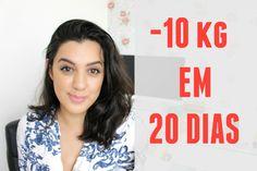 COMO EU PERDI 10KG EM 20 DIAS | COMO EMAGRECER SEM ACADEMIA