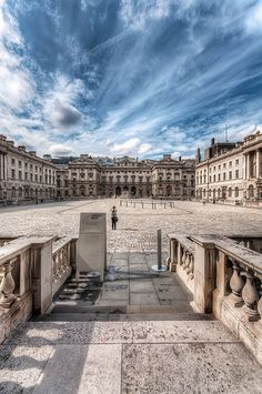 Somerset House, London. Was told to go here for family tree research!