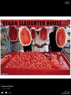 Vegan slaughter house