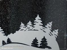 Интерьер Новый год Вырезание И снова украшаем окна к Новому году 2012-2013 Бумага Клей фото 22