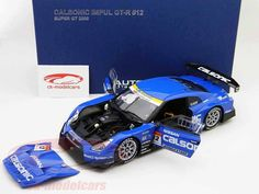 "Nissan GT-R ""Calsonic Impul"", Super GT 2008, T.Matsuda / S.Philippe, Calsonic Racing Team. Auto Art, 1/18. Price (2016): 190 EUR."