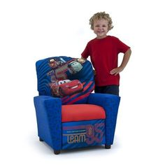 Disney Cars 2 Childrens Recliner ** BEST VALUE BUY on Amazon
