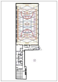 Image 16 of 19 from gallery of Gymnasium Régis Racine / Atelier d'Architecture Alexandre Dreyssé. Plan