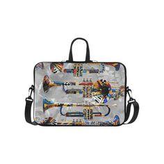 "Trumpet Print Laptop Case by Juleez Laptop Handbags 15"" | ID: D1343994"