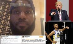 NBA superstar LeBron James posted a video to social media on Saturday calling for national unity while explaining that he called President Donald Trump a 'bum' earlier in the day.