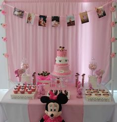 Mickey Mouse / Minnie Mouse Birthday Party Ideas | Photo 1 of 11 | Catch My Party