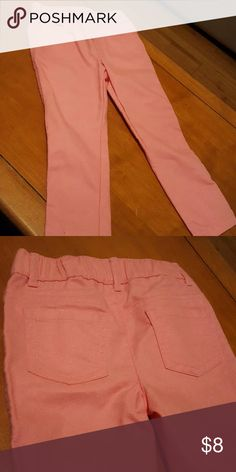 Girls pants Brand new. Pink with pink glitter. Elastic waist. Healthtex Bottoms Casual