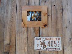 5x7 Rustic Alder frame