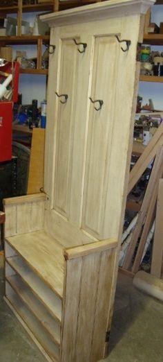 Old Doors Repurposed | old doors rebuilt/repurposed as super hall ... | Repurpose eclectic d ...