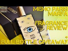 Marfa by Memo Paris Review + Full Bottle USA Giveaway