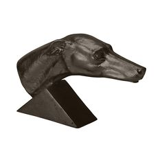 Aged Black Grand Greyhound >>> Unbelievable  item right here! : Decor Collectible Buildings and Accessories